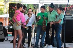 resized Edgar Molina Fedujazz Workshop Dominican Republic Jazz Festival 2014 photo Felix Corona