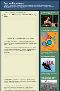 Exposición DR Jazz Festival Identidad Gráfica y Visual