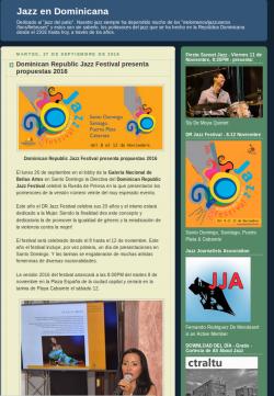 Dominican Republic Jazz Festival presenta propuestas 2016