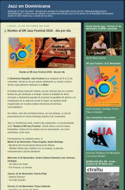 Rumbo al DR Jazz Festival 2016 - día por día