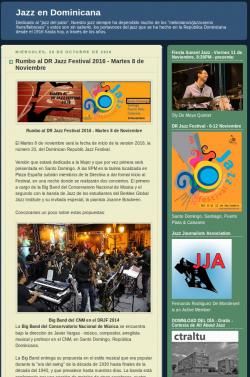 Rumbo al DR Jazz Festival 2016 - Martes 8 de Noviembre