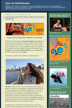 Rumbo al DR Jazz Festival 2016 - Miércoles 9 de Noviembre
