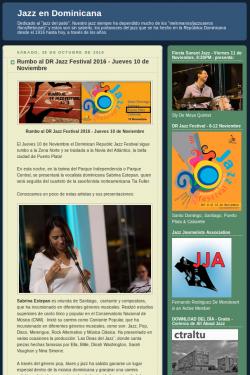 Rumbo al DR Jazz Festival 2016 - Jueves 10 de Noviembre