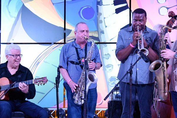 Trio da Paz with Garzone, Jones, Pignataro photo Carlos Pena | Dominican Republic Jazz Festival 2017 | Photo Gabriel Rodes