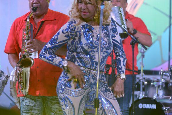 Fefita La Grande | Dominican Republic Jazz Festival 2017 | Photo Gabriel Rodes
