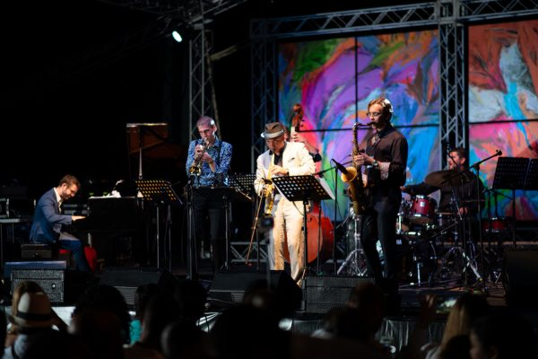 Marco Pignataro and Berklee Global Jazz Ambassadors Ambassadors | Dominican Republic Jazz Festival 2018 | Cap Cana | Photo Gabriel Rodes