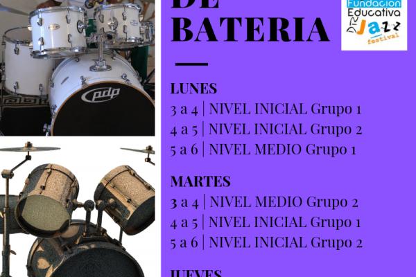 Clases de Bateria FINAL