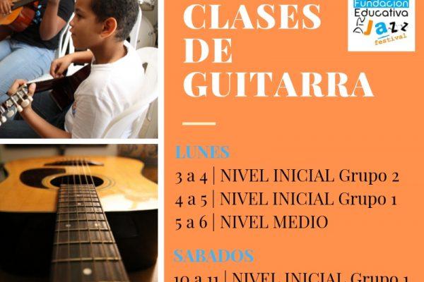 Clases de Guitarra Fedujazz