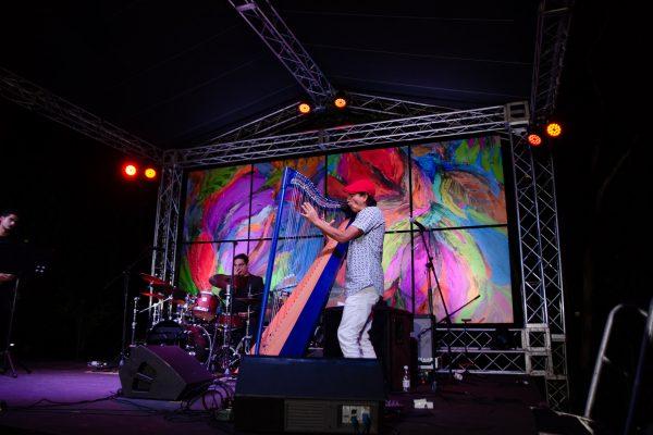 Edmar Castañeda and band | Dominican Republic Jazz Festival 2018 | Photo Jhonatan Perez