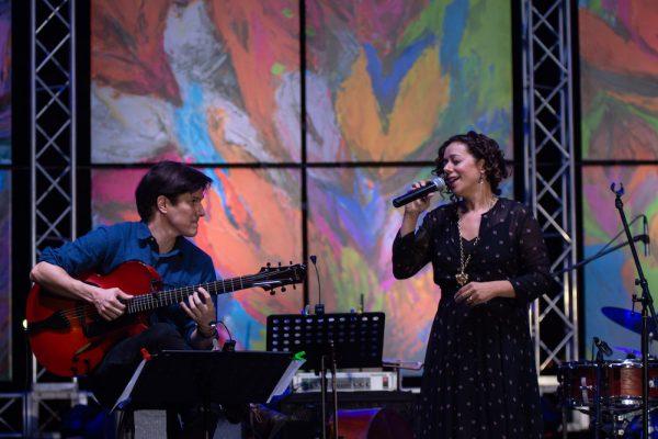 Luciana Souza feat. Chico Pinheiro | Dominican Republic Jazz Festival 2018 | Photo Jonathan Perez