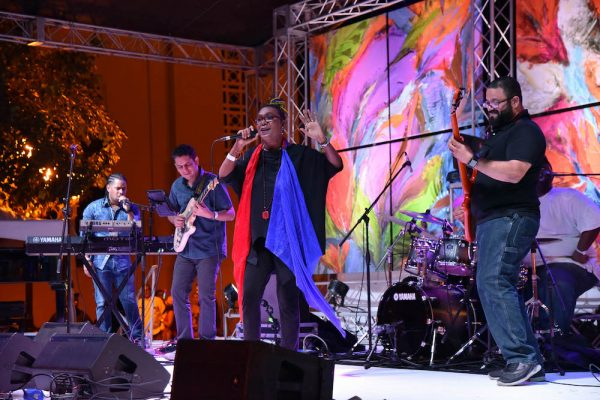 Xiomara Fortuna and band | Dominican Republic Jazz Festival 2018 | Photo Carlos Pena